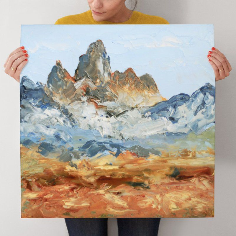 """""""Le Grand Teton"""" - Art Print by Laura Morris in beautiful frame options and a…"""