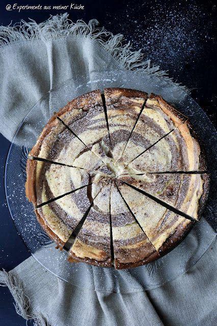 Zebra-Käsekuchen Backen, Kuchen and Cheesecakes - experimente aus meiner küche