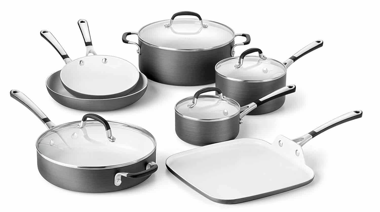 Calphalon Kitchen Essentials Pans Oven Safe Di 2020 Kesehatan