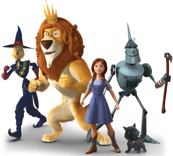 Group Shot All Mized Png 576 520 Character Design Wizard Of Oz Movie Characters