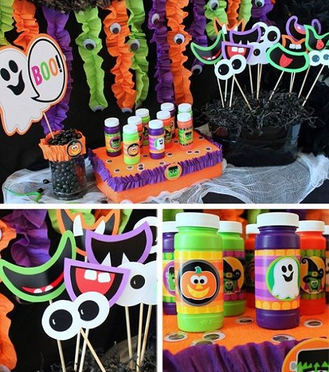 Fiestas halloween juegos decoracion fiestas pinterest - Decoracion fiesta halloween ...