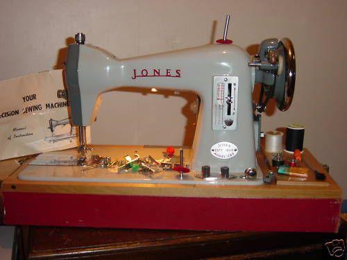JONES CBD Sewing Machine Lil Vintage Makes Sewing Sewing Magnificent Jones Sewing Machine