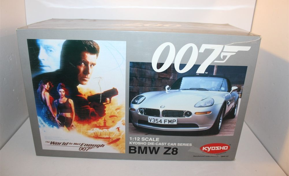 James Bond 007 The World Is Not Enough Bmw Z8 Diecast Model Car 1