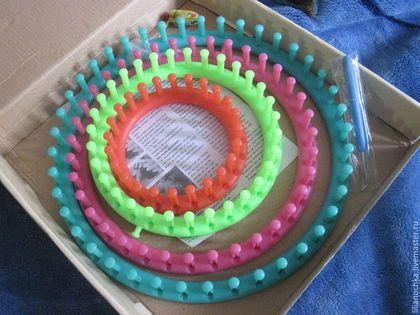 устройство для вязания Knitting Loom набор из 4 станков лум