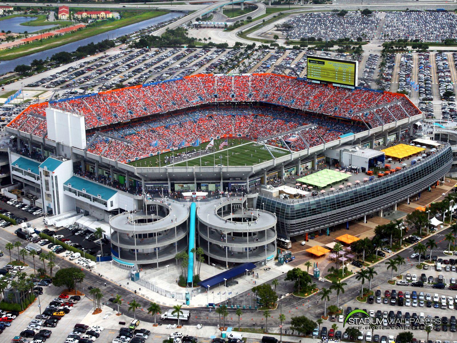 Sun Life Stadium Miami Gardens Florida Sun Life Stadium Miami Dolphins Stadium Stadium Wallpaper