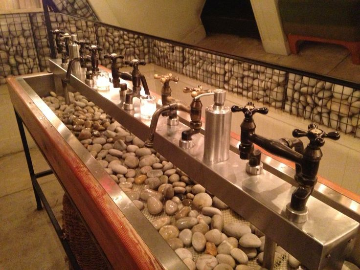 Sink At Rayuela Restaurant In NYC Restrooms With Style Pinterest - Restaurant bathroom sinks