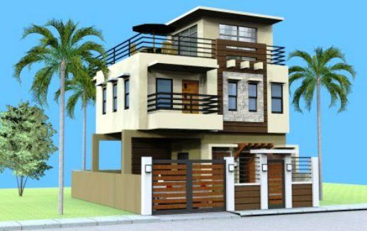 model jonna - 3 storey w/ roof deck - 180 sq.m. floor area (4