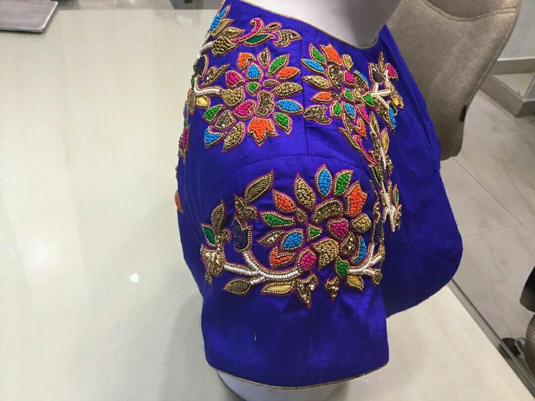 Pin by ashwini reddy on saree blouse pinterest blouse designs