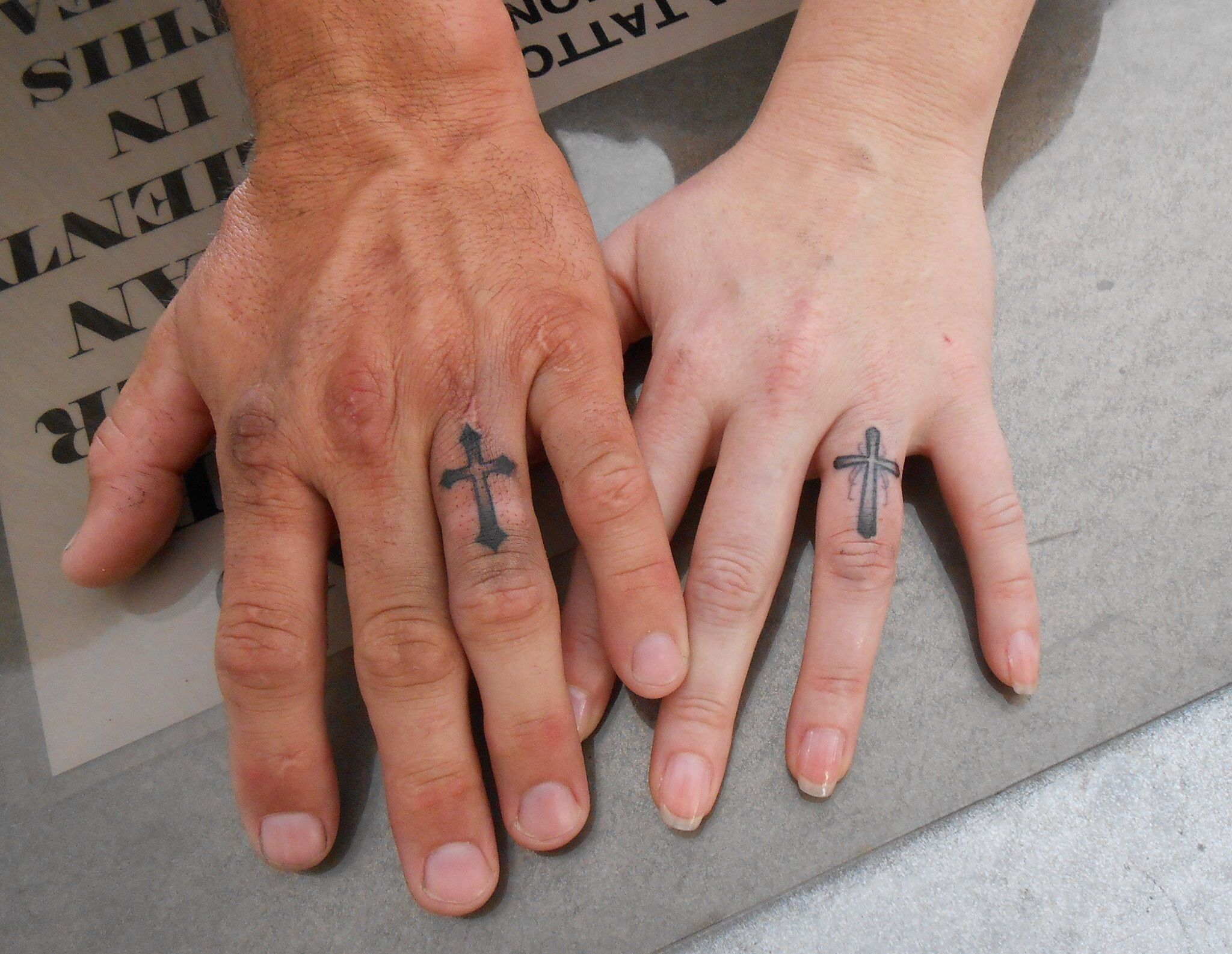 Wedding Ring Tattoos For Men Designs 35 Pictures About