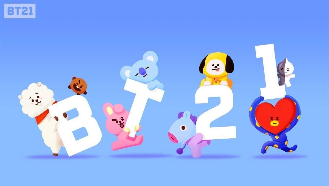 Say Bt21 Line Friends Bts Chibi Bts Fanart
