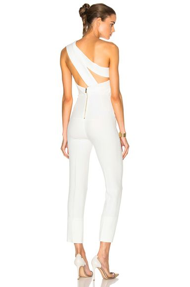 Shop for Roland Mouret Ampere Stretch Viscose Jumpsuit in White at FWRD. Free 2 day shipping and returns.