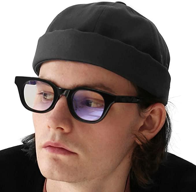 Fashion Adjustable Rolled Fisherman Sailor Cap Skull Beanie Hats Costume