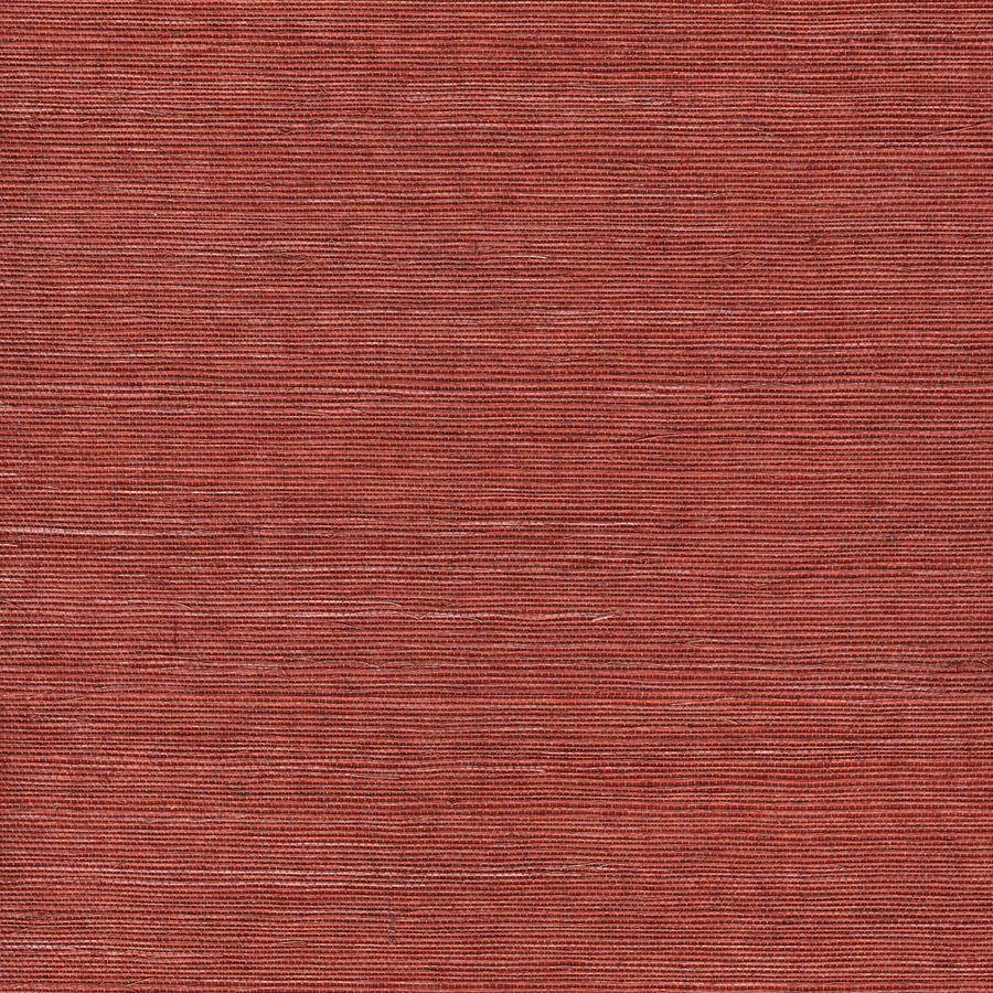 Shop allen + roth Red Grasscloth Unpasted Textured