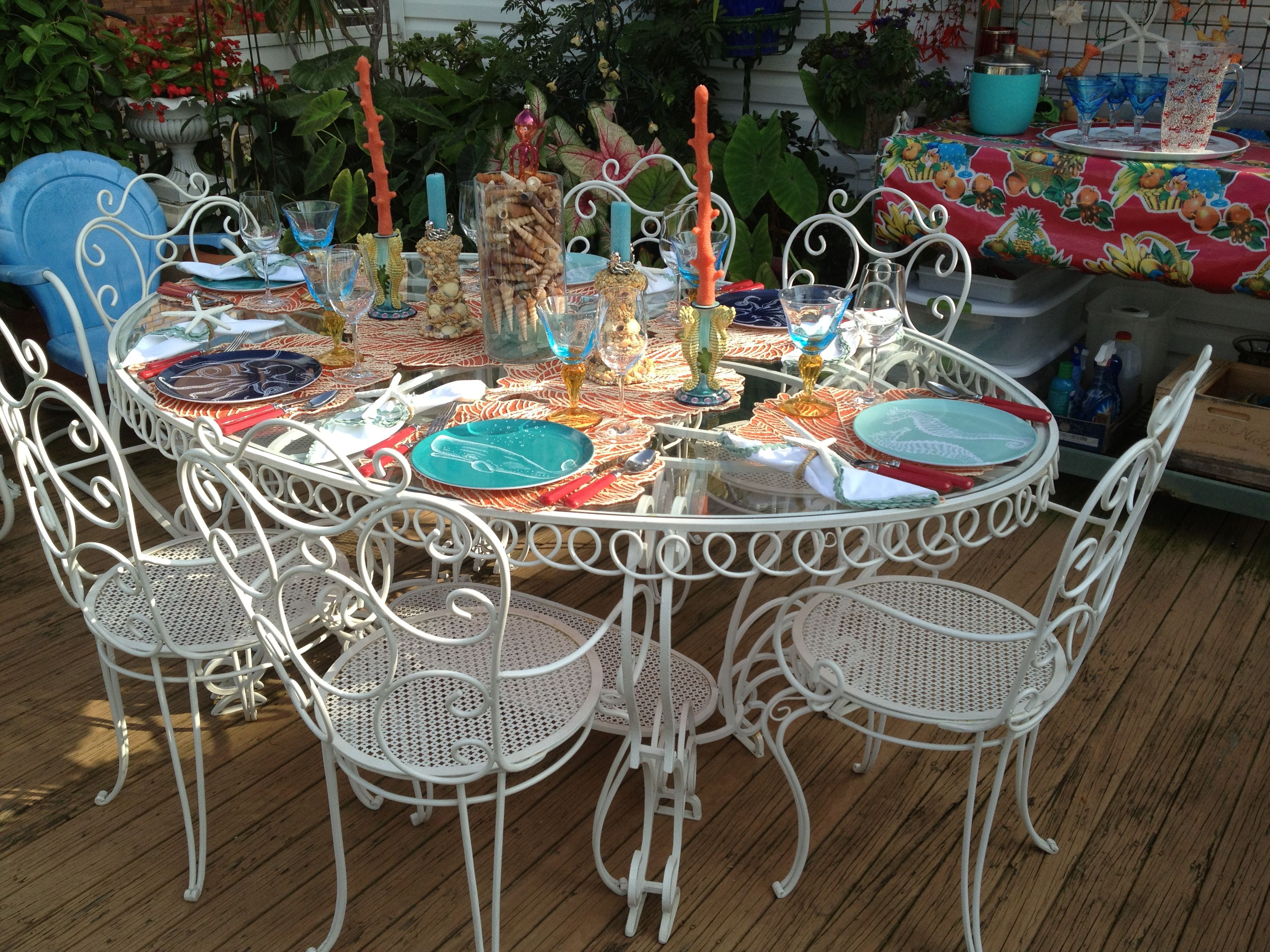 Table setting for late summer dinner party | Home decor | Pinterest ...