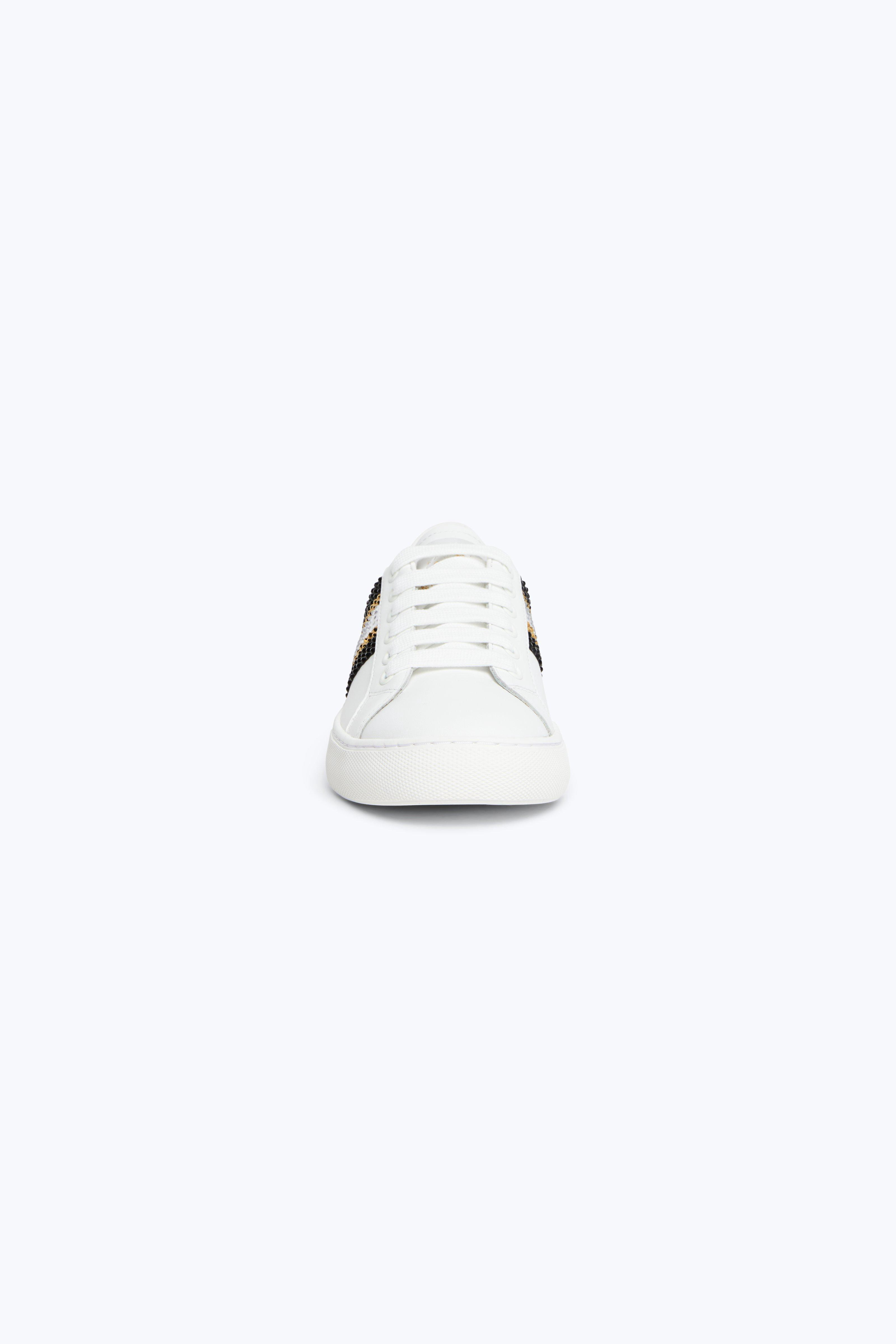 03a97137ecae66 Marc Jacobs Bedazzled Stripe Empire Sneaker - Pink Multi 37 ...