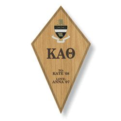 Kappa Alpha Theta Paddle / Plaque SALE $29.95. - Greek Clothing and Merchandise - Greek Gear®
