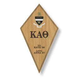 Kappa Alpha Theta Paddle / Plaque SALE $29.95. - Greek Clothing and Merchandise - Greek Gear®