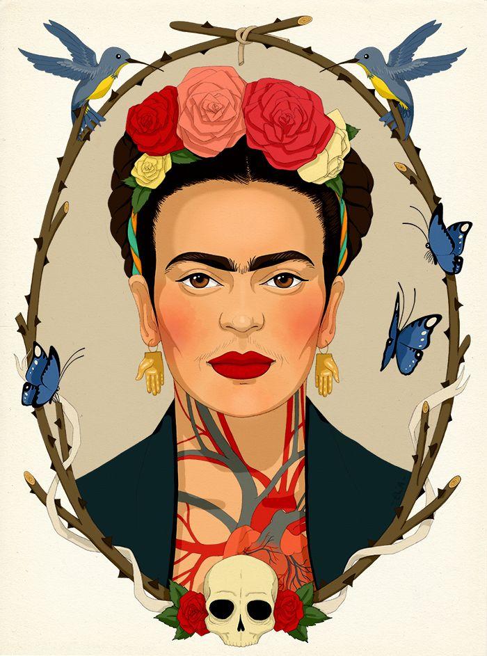 Frida Kahlo Un Proyecto De Eliasanmar En 2019 Frida