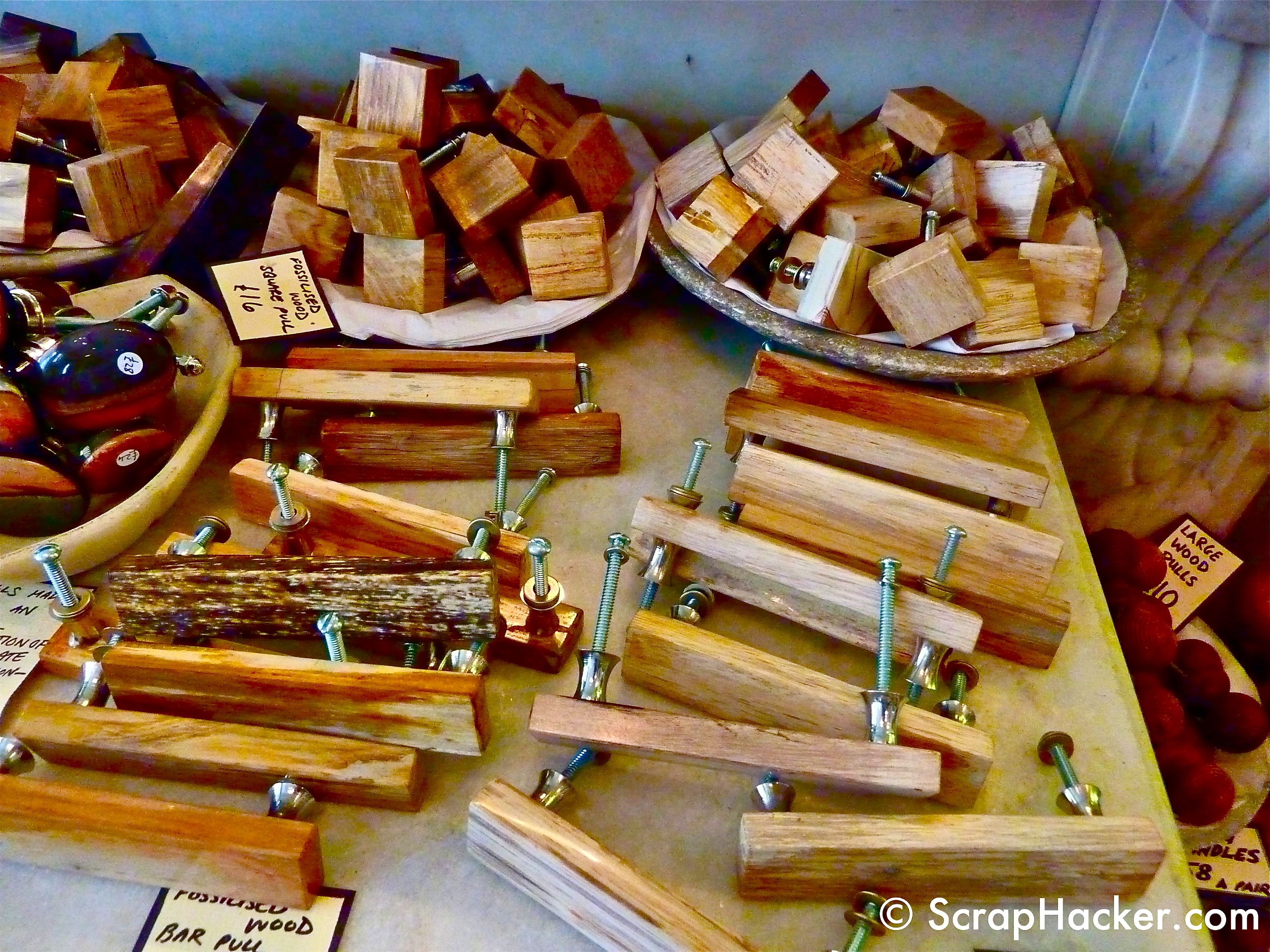 Wooden Drawer Pulls & Knobs Inspiration. by scraphacker