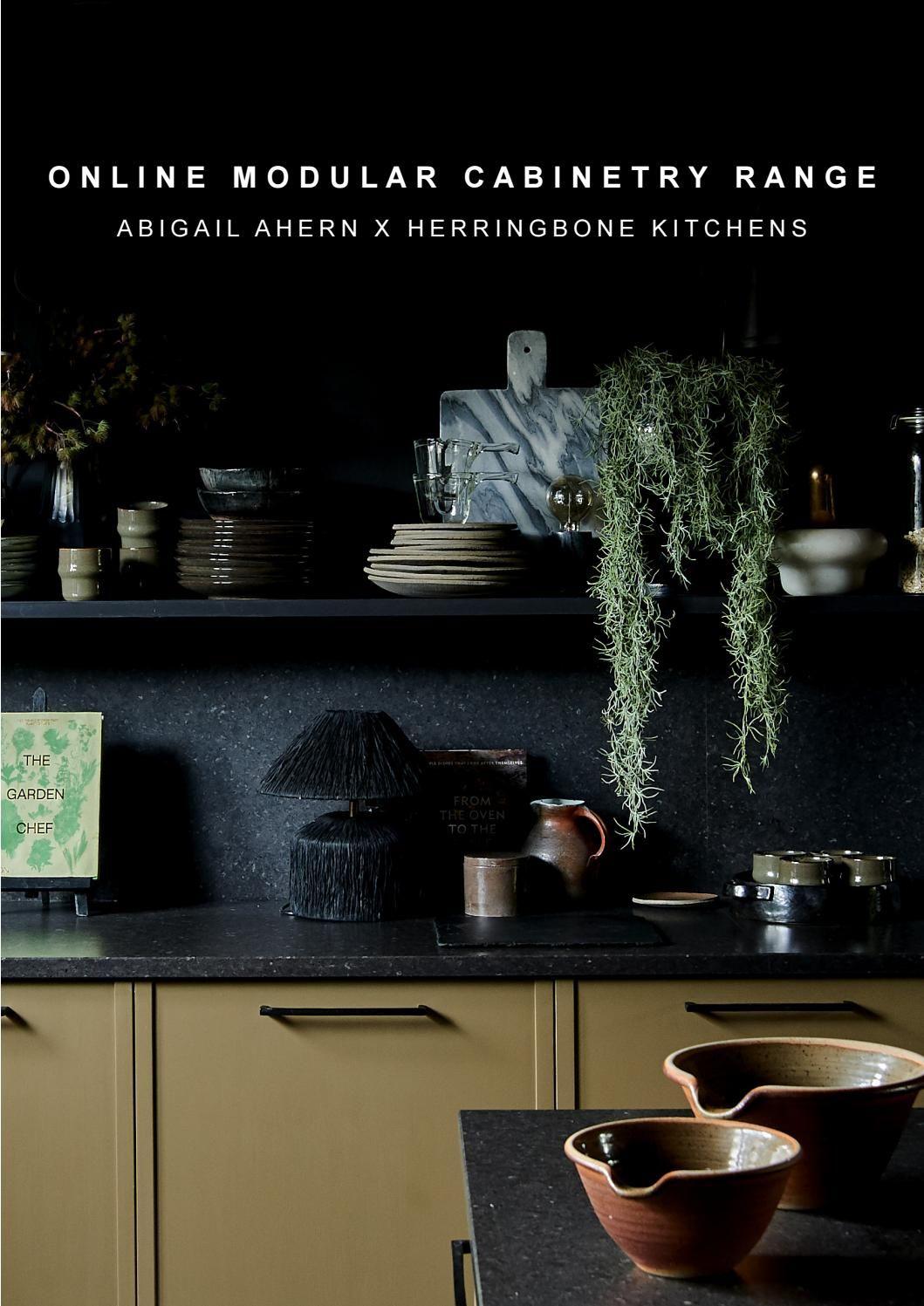 Best Abigail Ahern X Herringbone Kitchens Online Modular 640 x 480