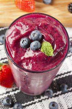 licuados de blueberry para adelgazar