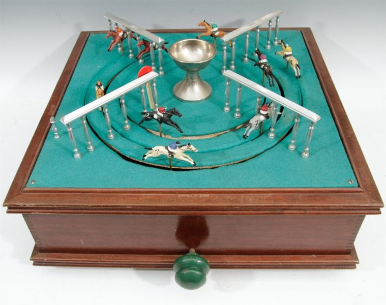 Antique gambling horse race game horse race game video