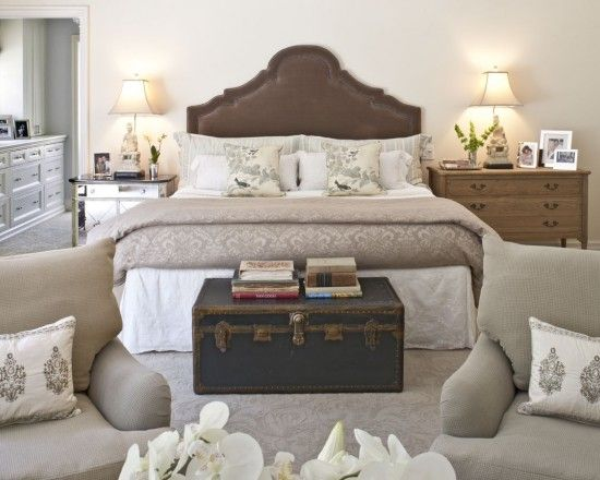 The Chest At Foot Of Bed Master Bedroom Design Pictures Remodel