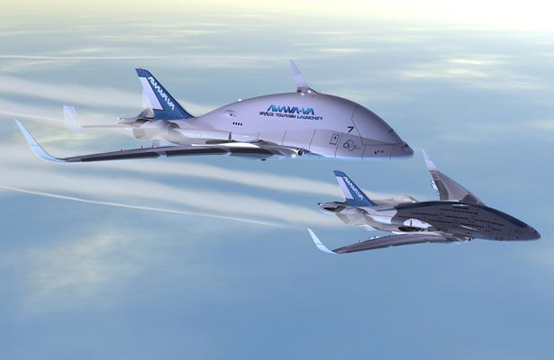 AWWA Sky Whale Concept Plane | Oscar Viñals