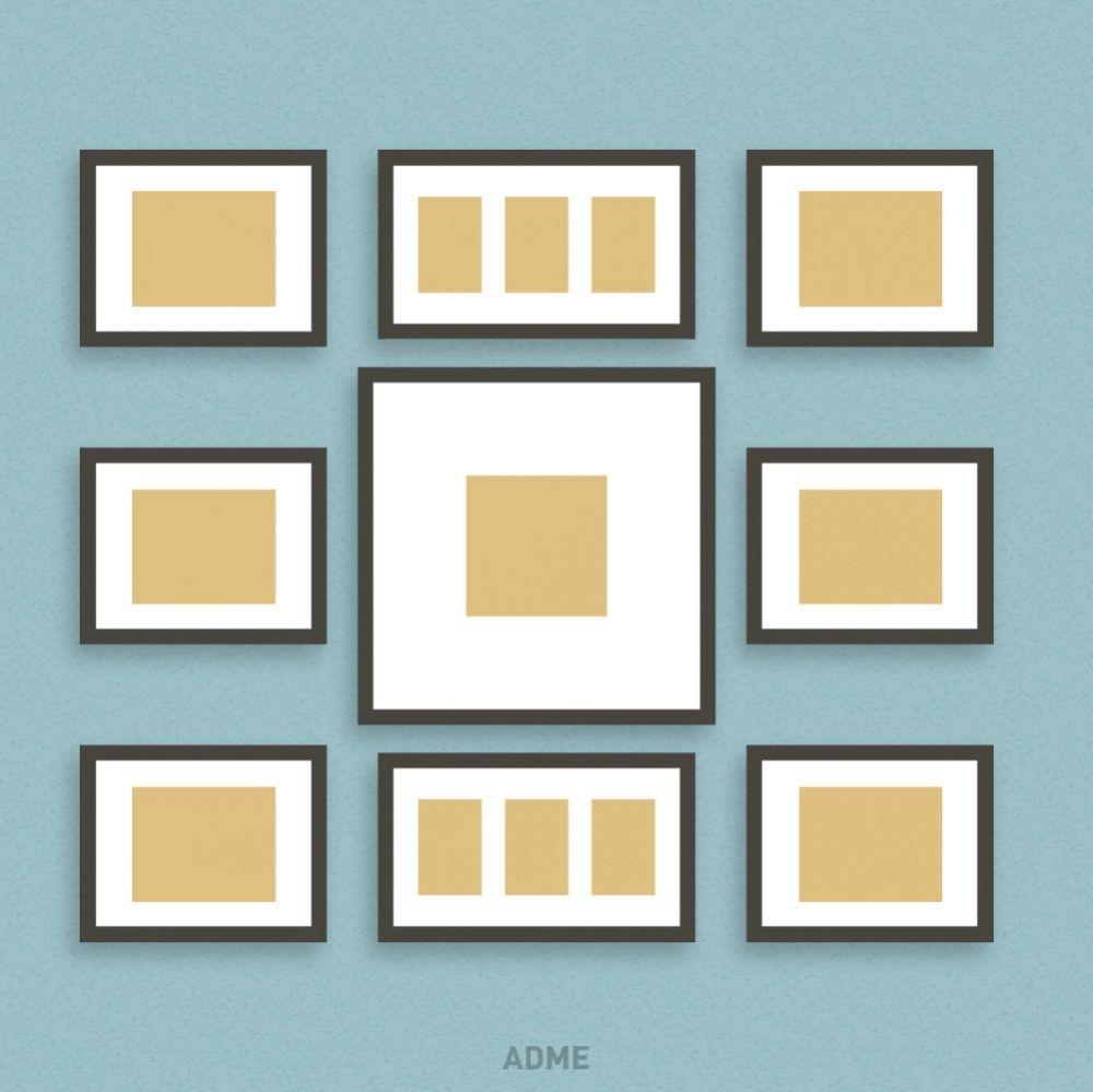 6 Ideas novedosas para colgar los cuadros en tu hogar | Cuadros ...