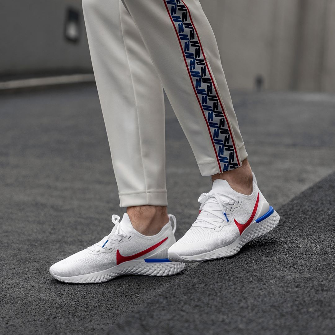 Vaticinador Literatura Bungalow  Nike Epic React Flyknit 2 BRS Herrenschuh weiß | Sneakers fashion, Best  sneakers, Sneakers