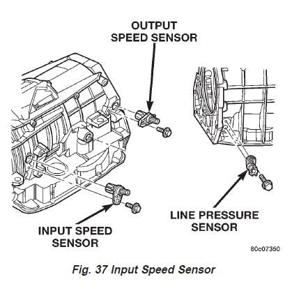 2005 Dodge Durango Transmission Diagram