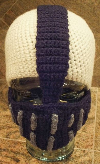 Infinity Scarf and the Bane Insired Hat from Batman | Pinterest ...