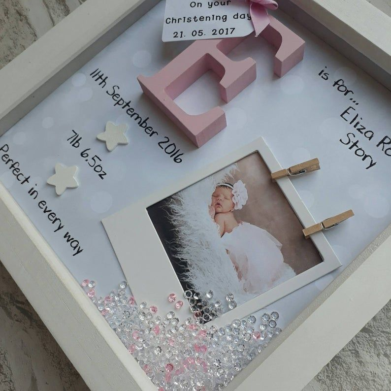 Baby Girl Gift Baby Boy Frame New Baby Gift Gift for