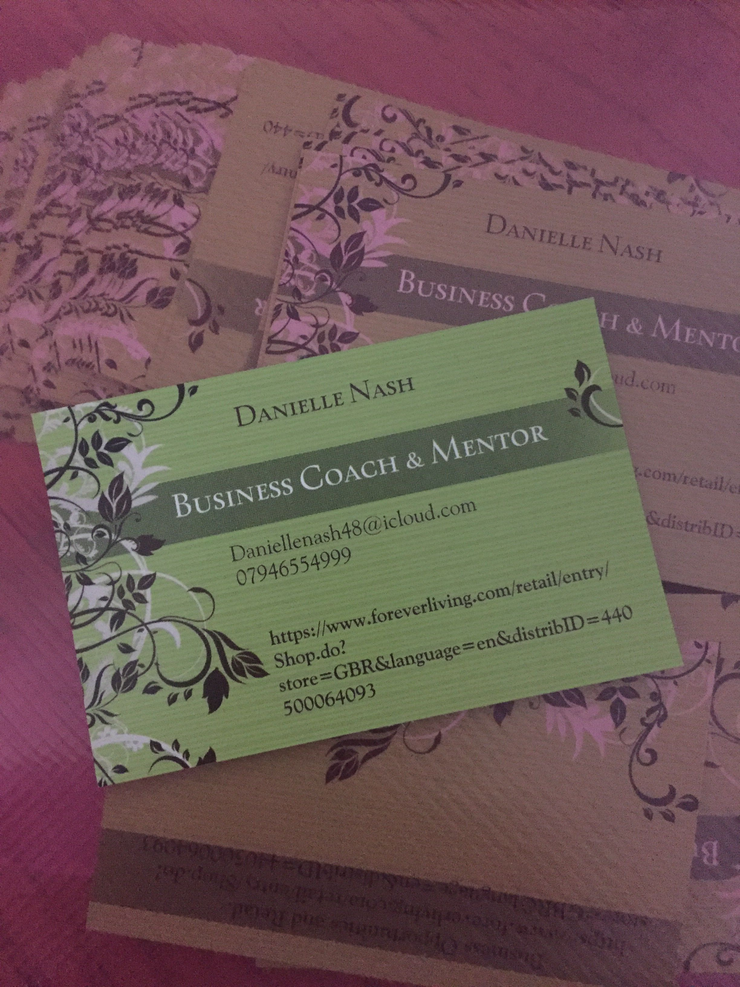 My business cards https://www.foreverliving.com/retail/entry/Shop.do ...