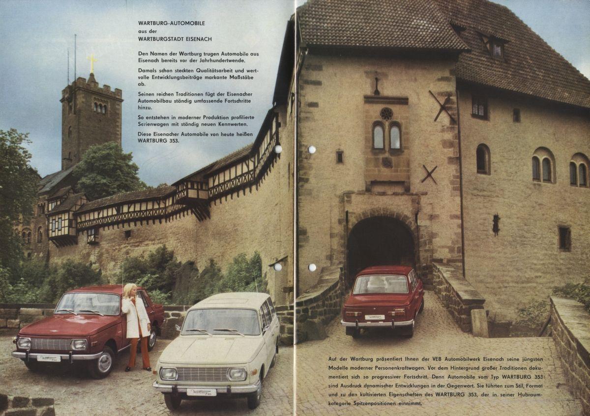 Prospekt Veb Automobilwerk Eisenach In 2020 Eisenach Automobil Wartburg