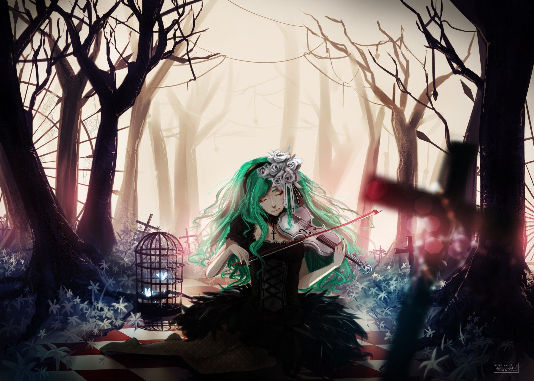 Download Anime Girl Wallpaper 1333×1000 Full HD Wallpapers