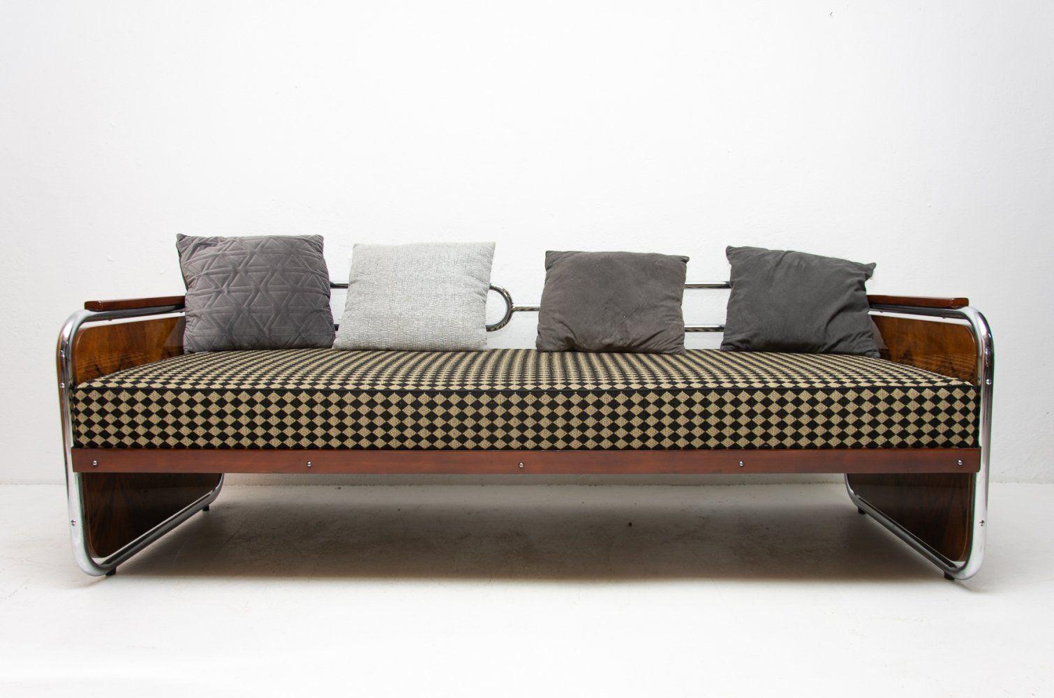 For sale Chromed Bauhaus sofa, 1930s in 2020 Bauhaus