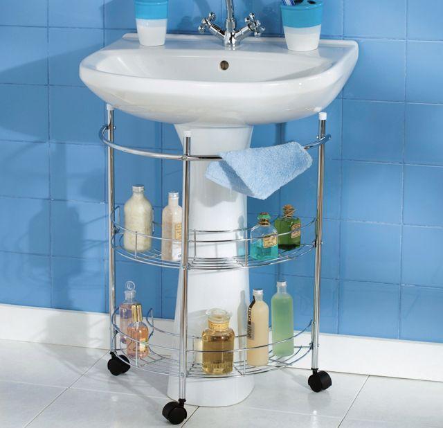 Astuces intéressantes de rangement salle de bain