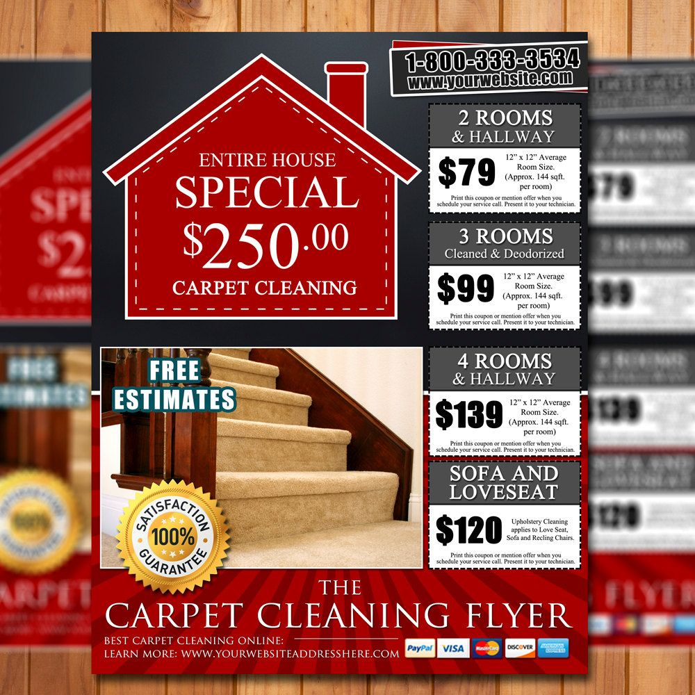 sample flyer business marketing ideas flyers and custom carpet cleaning 8 5x11 flyer design done in 24hrs business marketing by creative designs