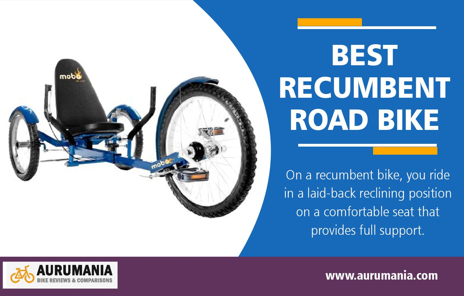 5 Best Recumbent Road Bikes Of 2019 With Reviews And Comparison