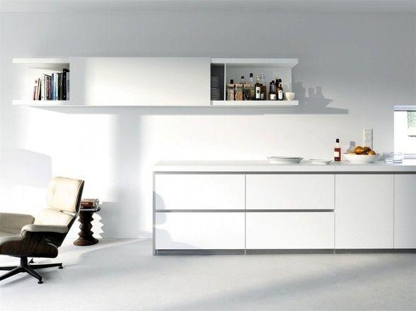 Greeploze design keukenwand b wit bulthaup keukens