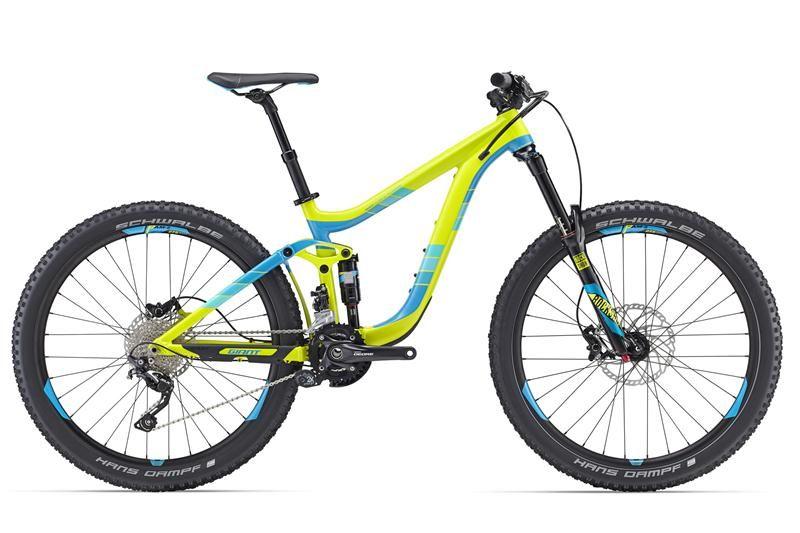 Giant Reign 27.5 ALUXX aluminum full suspension bike