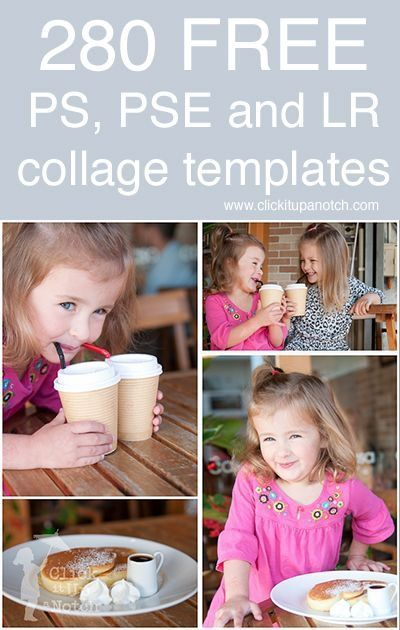 280 free collage templates for photoshop photoshop elements and