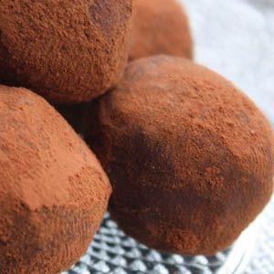 Unas deliciosas trufas de chocolate en tan sólo 3 pasos