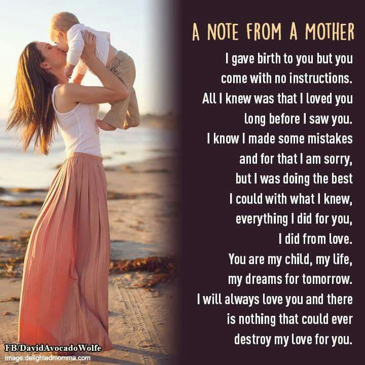 Mother To Son Quotes And Sayings: Love You And Miss You Mom