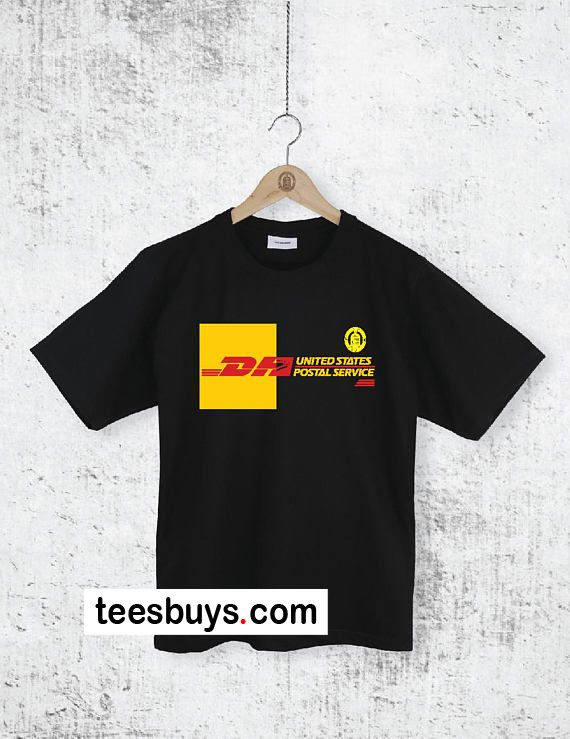 fe2814b8 DHL T-Shirt from teesbuys.com This t-shirt is Made To Order, one by one  printed so we can control the quality.