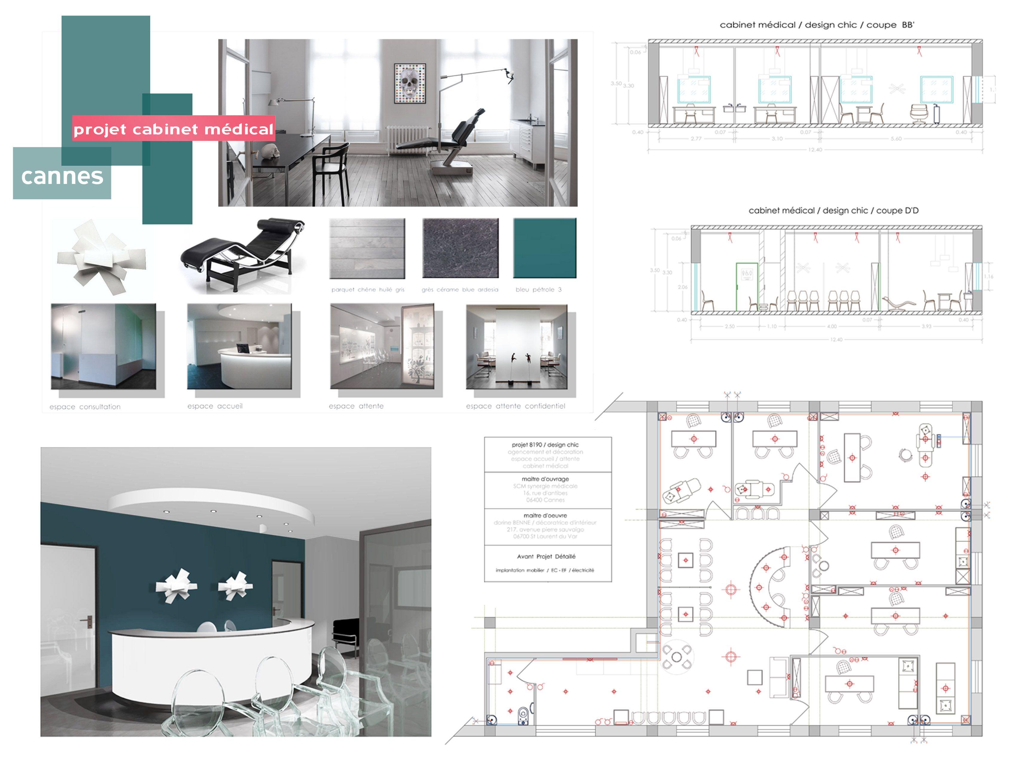 projet cabinet médical   B_indoor   www.b-indoor.com/ #projet #3D ...