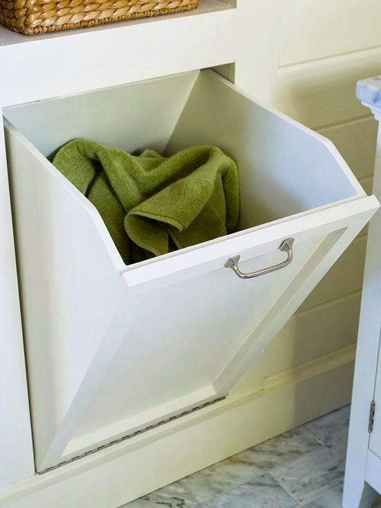 Meuble pour cacher le linge sale  super panier à linge #panier-à - meuble salle de bain panier a linge