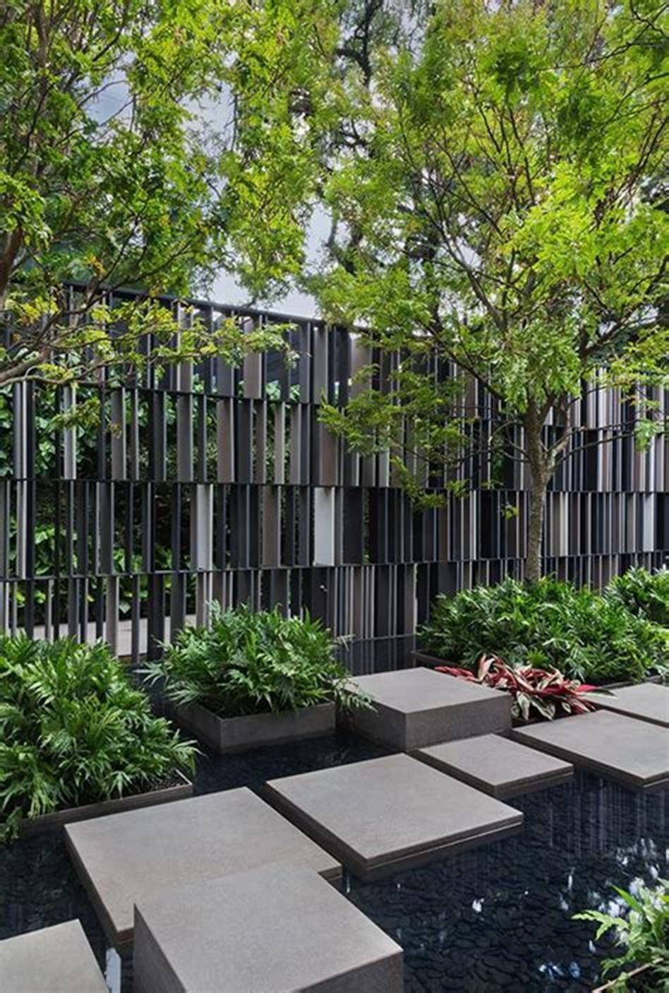 32 Amazing Contemporary Backyard Ideas To Inspire You Craft Home Ideas Kolam Ikan Lanskap Kebun Contemporary backyard landscaping ideas