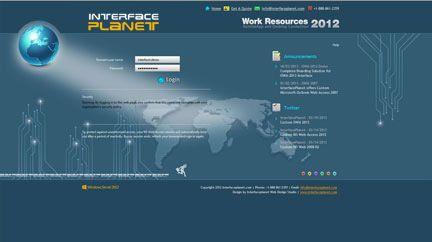 InterfacePlanet com provides Custom RD Web Access 2008 R2